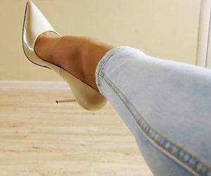 fashionista, heels, and pumps image