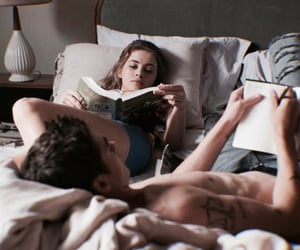 studying, love, and relationship goals image