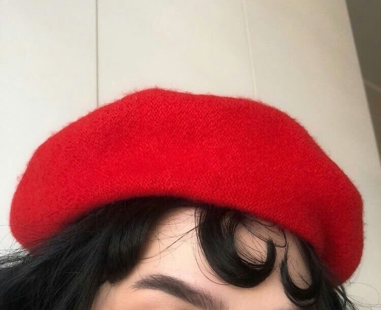 red, aesthetic, and tumblr image