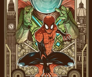 Marvel, spiderman, and mysterio image