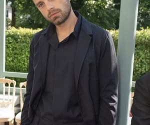 paris fashion week and sebastian stan image