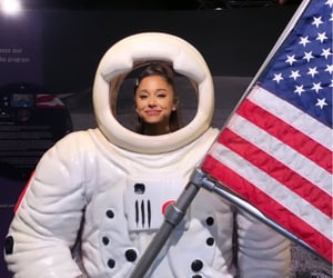 ariana grande, nasa, and space image