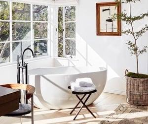 home, bathroom, and beige image