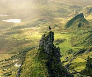 nature, green, and scotland image