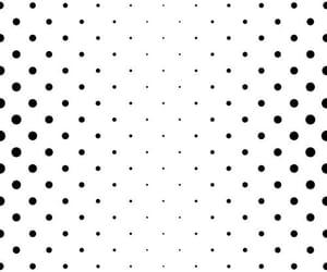 black, chevron, and dots image
