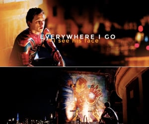 Marvel, spiderman, and ironman image