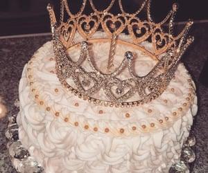 cake, princess, and food image