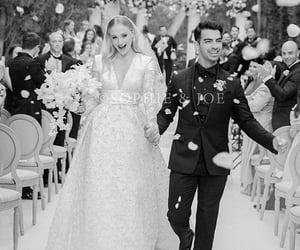 Joe Jonas, sophie turner, and wedding image