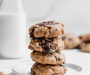 Cookies, food, and choc chip image
