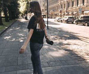 city, girl, and helsinki image