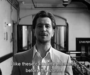 before the storm, gary oldman, and calm little moments image