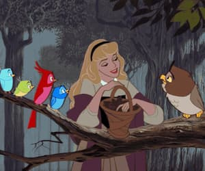 gif and sleeping beauty image
