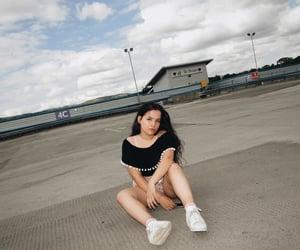 carpark, photoshoot, and summer image
