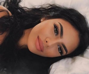 girls, makeup, and hair image