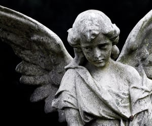 angels, article, and sad image