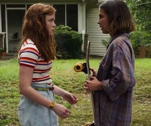eleven, strangerthings, and milliebobbybrown image
