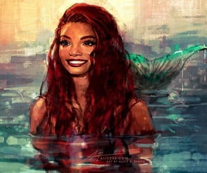 ariel and art image