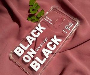 black on black, case, and kpop image