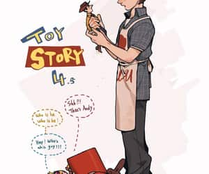 andy, boo, and toy story image