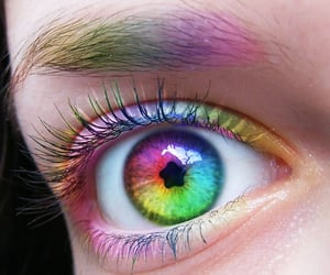 color, rainbowcore, and colorful image