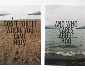 quote, care, and forget image
