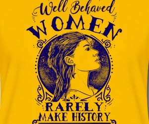 strong women, women day, and quote t shirt image