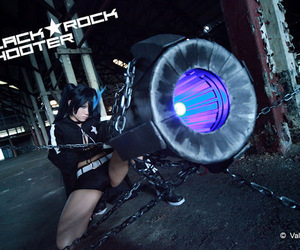 cosplay and black rock shooter image