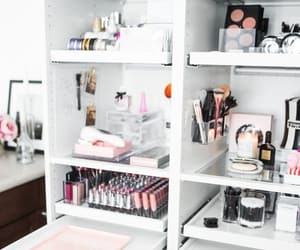 decor, makeup, and storage image