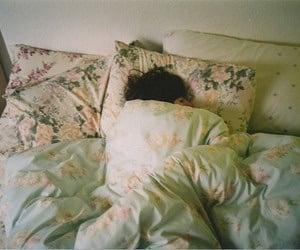 bed, sleep, and vintage image