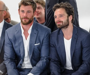 sebastian stan and chris hemsworth image