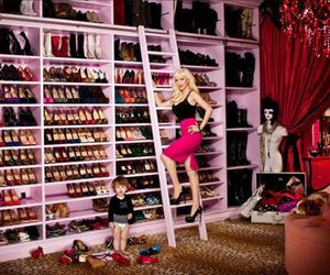girl, shoes, and room image