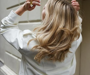 blonde hair, hair inspo, and white image
