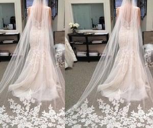 bridal veil, wedding veil, and wedding accessories image