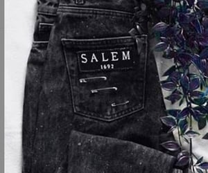 denim, diy, and witch image
