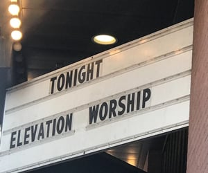 elevation, Hillsong, and jesus image