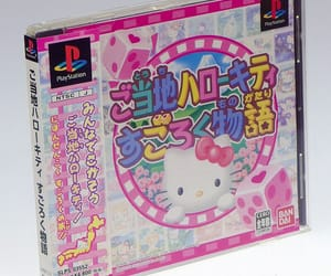 aesthetic, cd, and hello kitty image