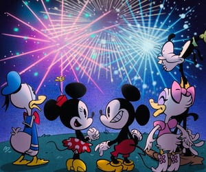 4th of july, disney, and donald duck image