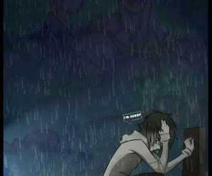 rain, sad, and creepypasta image
