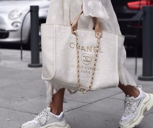 fashion, chanel, and white image