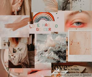 aesthetic, beige, and Collage image