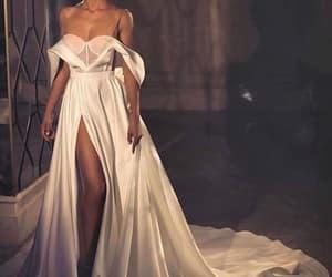 dress, girl, and beauty image