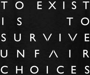 choices, exist, and live image