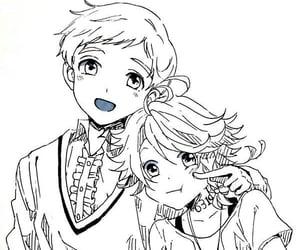anime, anime boy, and yakusoku no neverland image