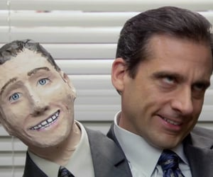dwight schrute, the office, and michael scott image