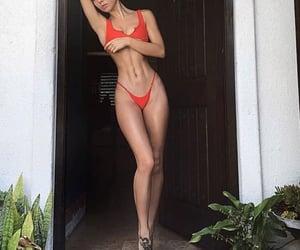 bikini, body, and fitness image