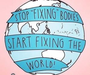body, feminism, and world image