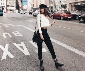 cities, clothes, and fashion image
