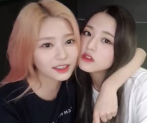 izone, minju, and kpop image