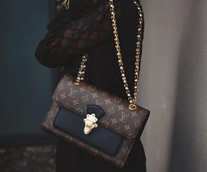 girls, handbag, and louis vitton image