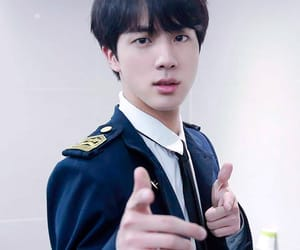 handsome, bts, and jin image
